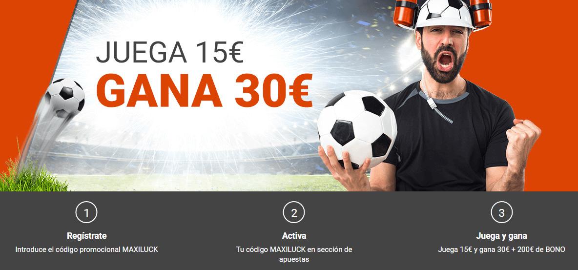 Bono de bienvenida del Casino de Luckia 1200€-312