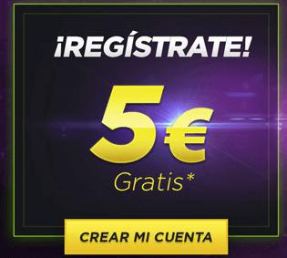 Transfiere 3 euros a tu cuenta de Casino y te regalan 3 en deportes Unibet-570