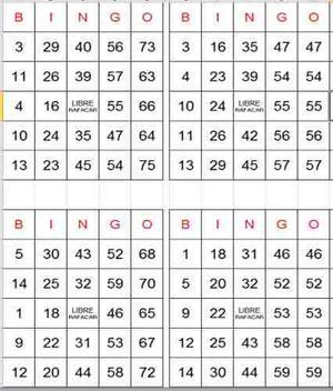 Y ofrece 300 tipos de bingo de 75 bolas-354