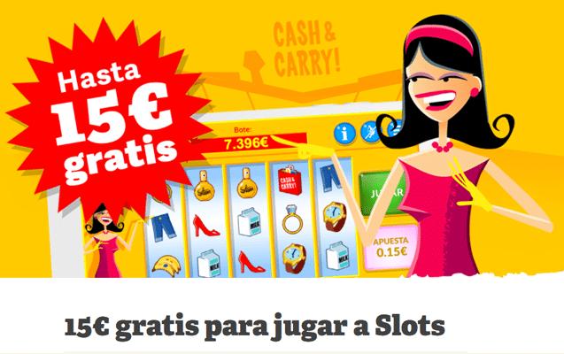 Paf: 2€ gratis con el juego de bono de Cash & Carry-261