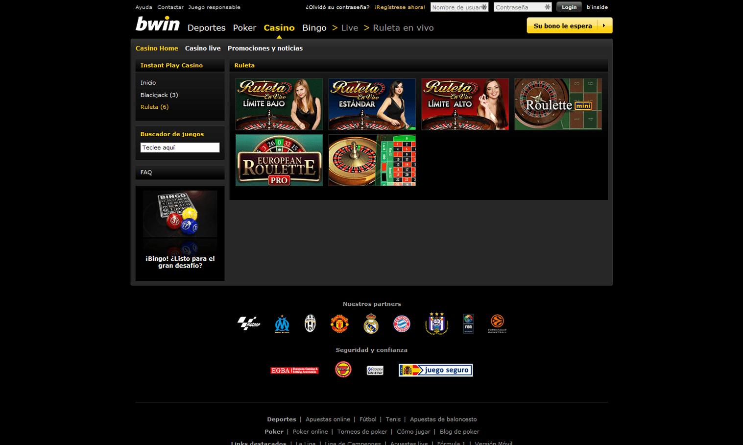 Conoce la versión móvil y la app del Casino Bwin es-102