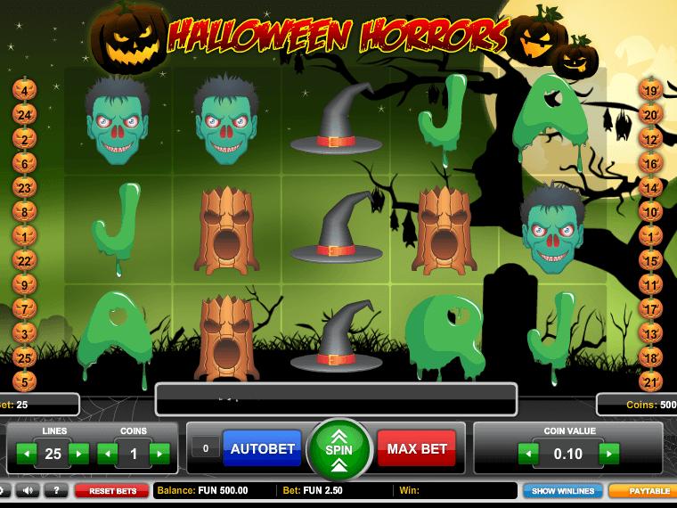 Opiniones de la tragaperra Halloween Horrors-470