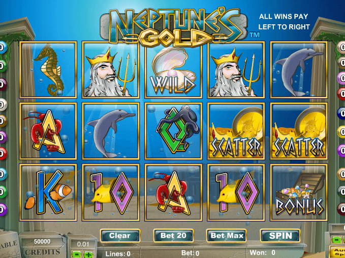 Jugar Gratis Neptune's Kingdom Tragamonedas en Linea-286