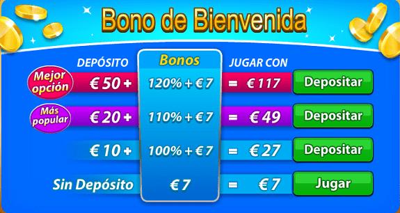 Canjea la siguiente bonificación y juega con créditos gratis de 10-822