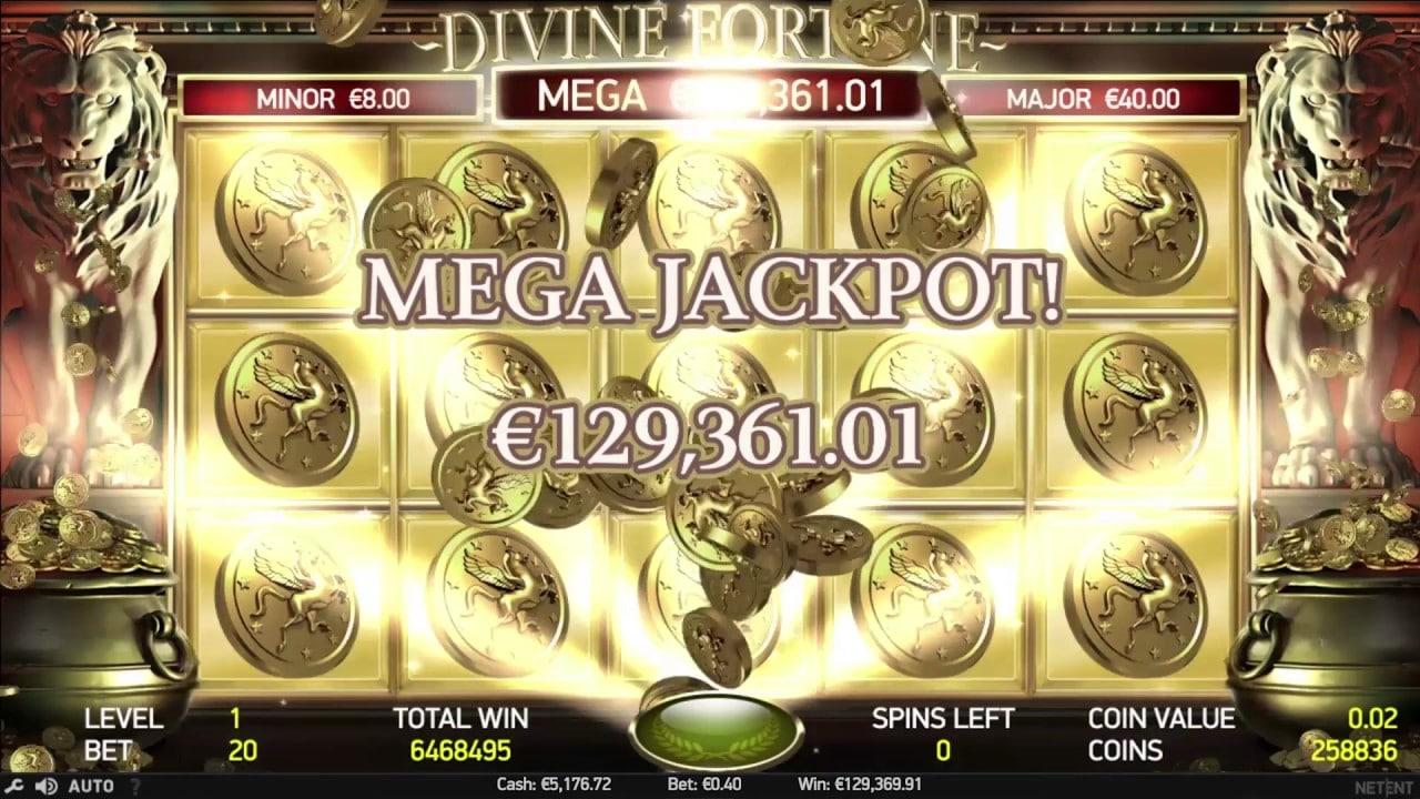 Opiniones de la tragaperra Divine Fortune-190