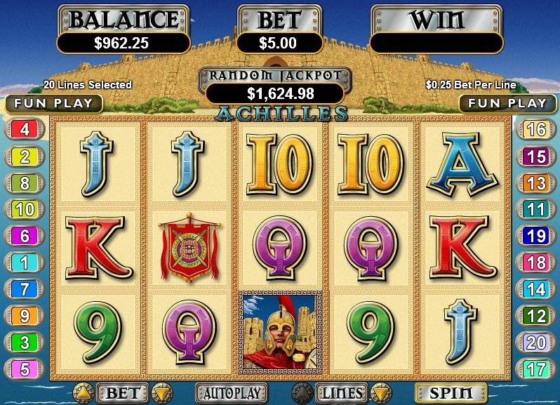 Juega a Achilles gratis Bonos de Real Time Gaming-829