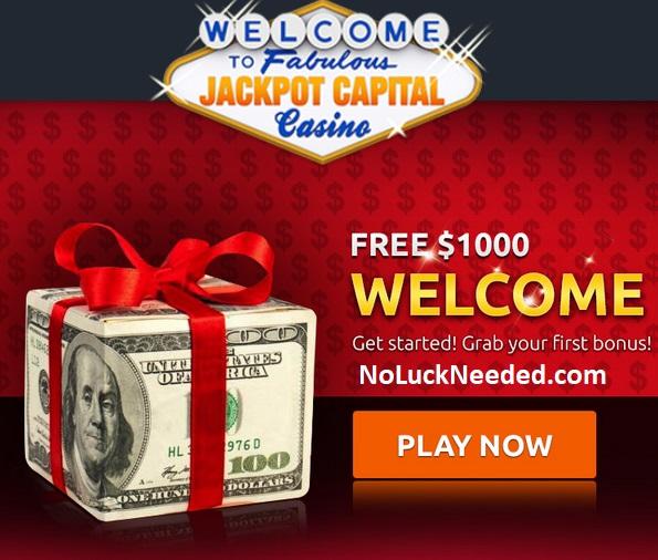 Jackpot Capital: 100% Bonus $ 100 Extra 100 Free Spins con su primer depósito-754