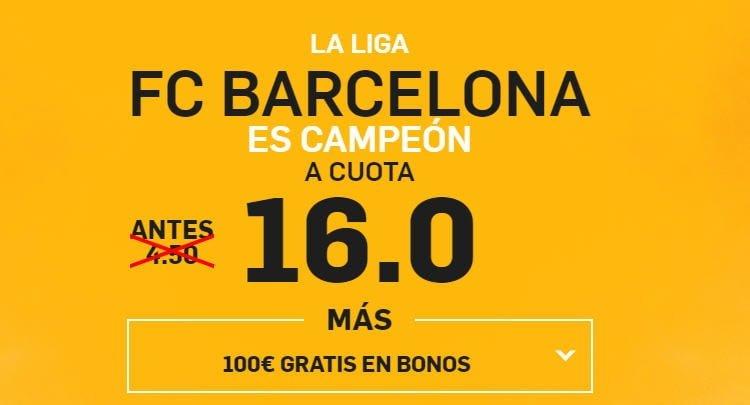 Supercuotas para Las Palmas vs Barcelona y 200€ en apuestas y 10€ de cashback-30