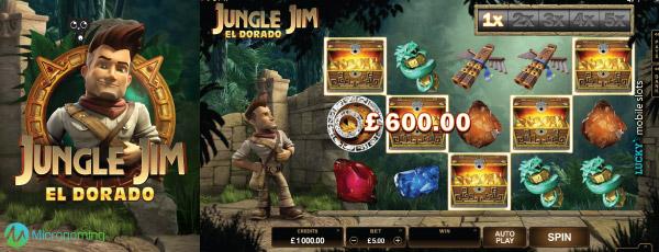 Juega a Jungle Jim El Dorado gratis Bonos de Microgaming-999