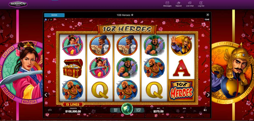 Jackpot City Online Casino Free Slots Tournament 1 millón de Euros-335