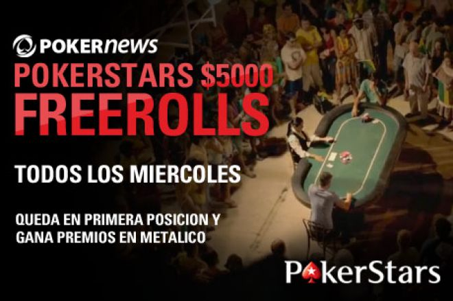 Bono PokerStars: 20€ primer ingreso y 20€ cashback Afree-802