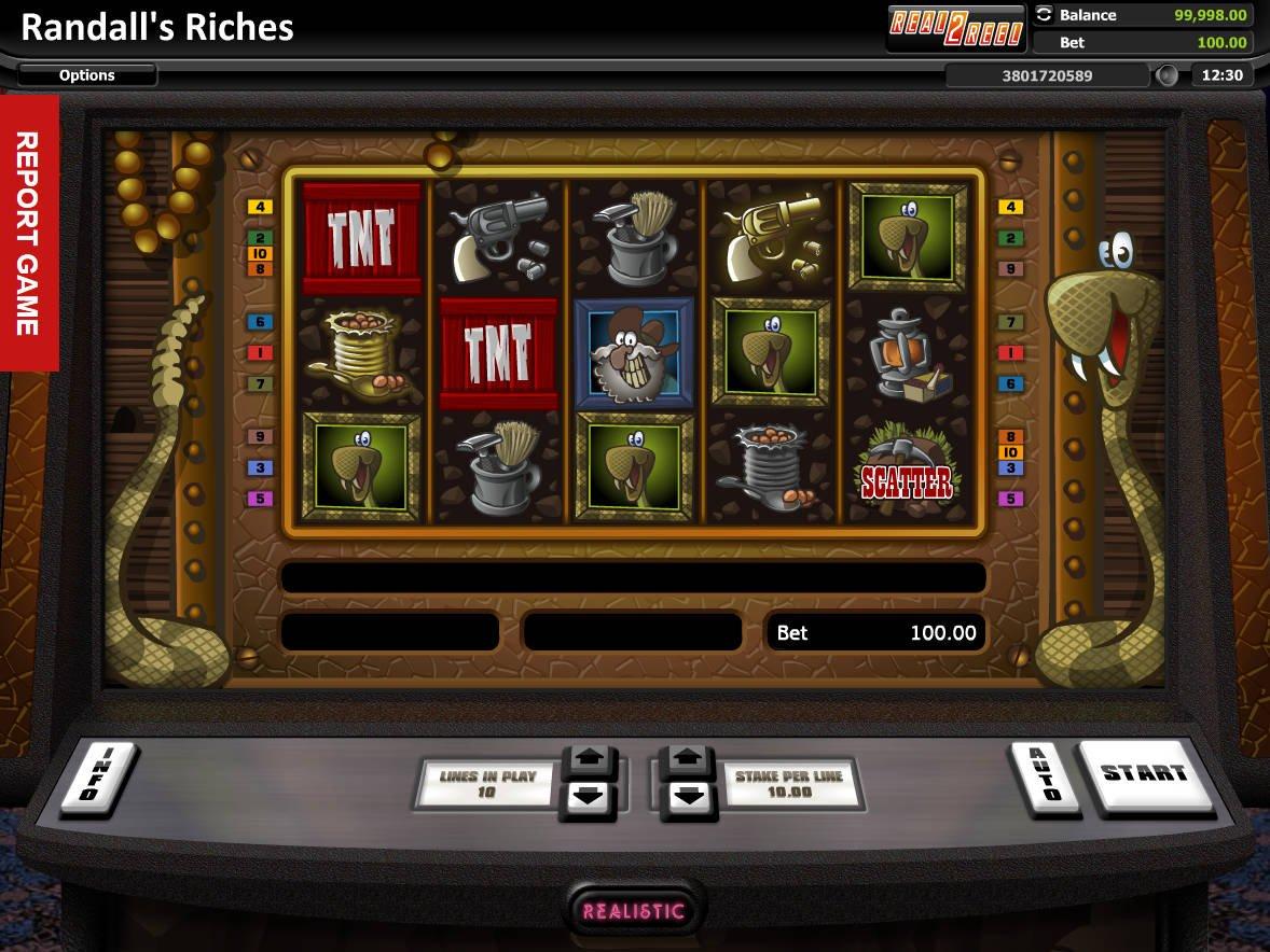 Jugar Gratis Rage to Riches Tragamonedas en Linea-904