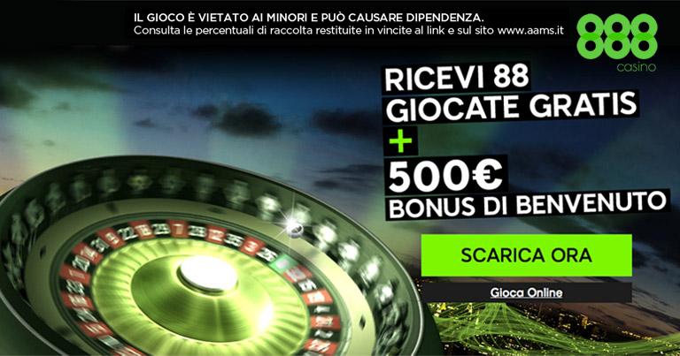 888Casino 100% Bonus 100 € con su primer depósito-766