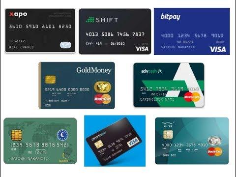 Bitcoins Cheques Tarjetas de crédito-974
