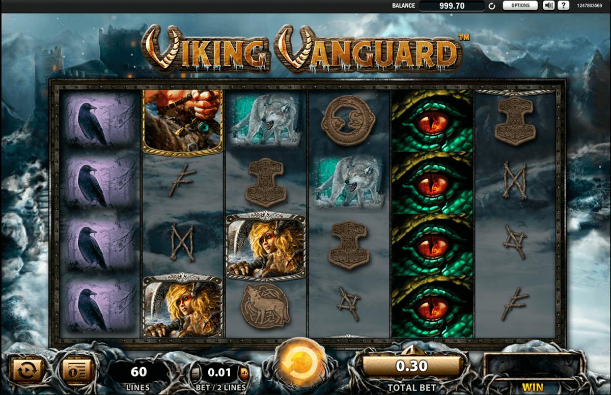 Juega a Viking Vanguard gratis Bonos de WMS-836