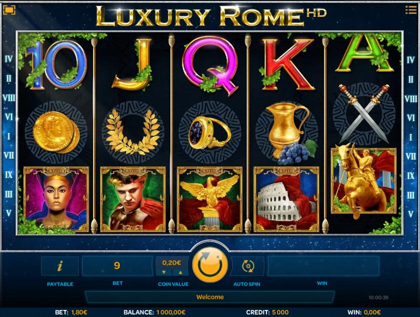 Juega a Luxury Rome HD gratis Bonos de iSoftBet-778