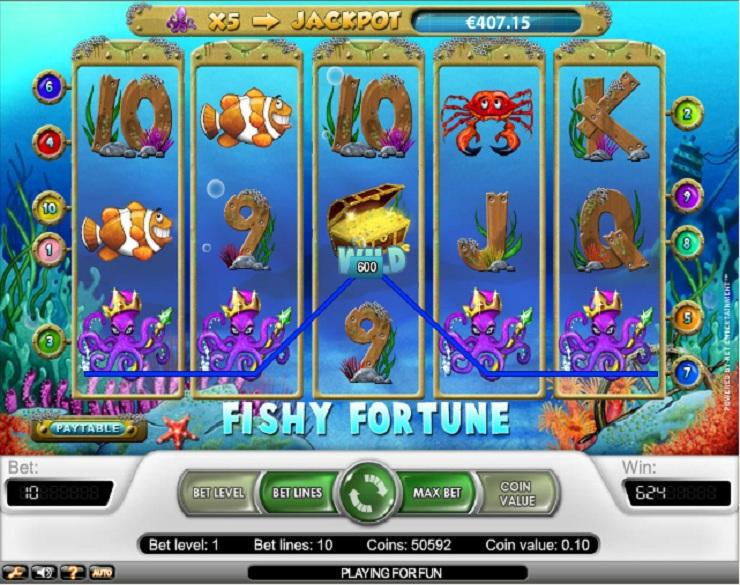 Jugar Gratis Fishy Fortune Tragamonedas en Linea-153