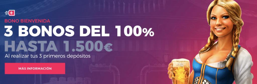 Betclic Casino Bono bienvenida 100% hasta 50€-166