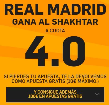Real Madrid gana a cuota 20.0 y 100€ de bono y 25€ extra-352