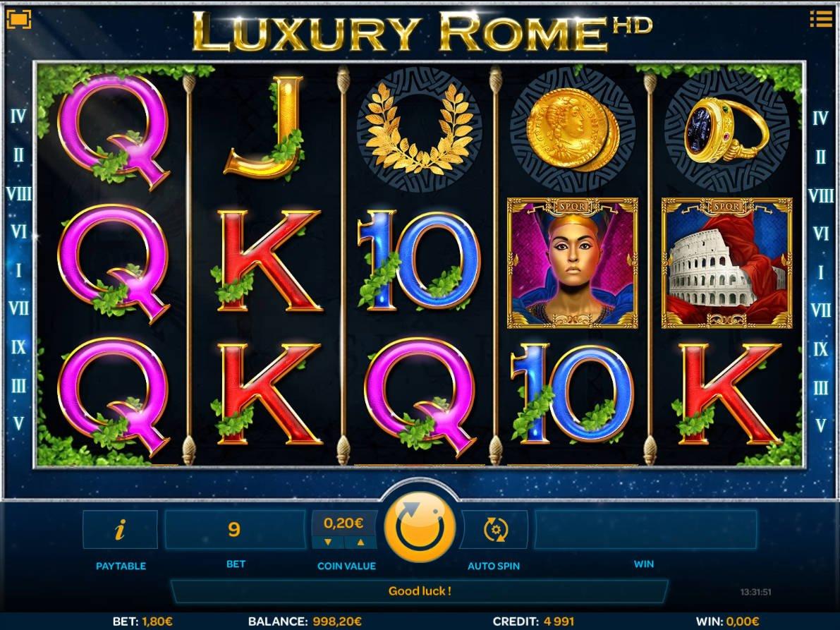 Juega a Luxury Rome HD gratis Bonos de iSoftBet-701