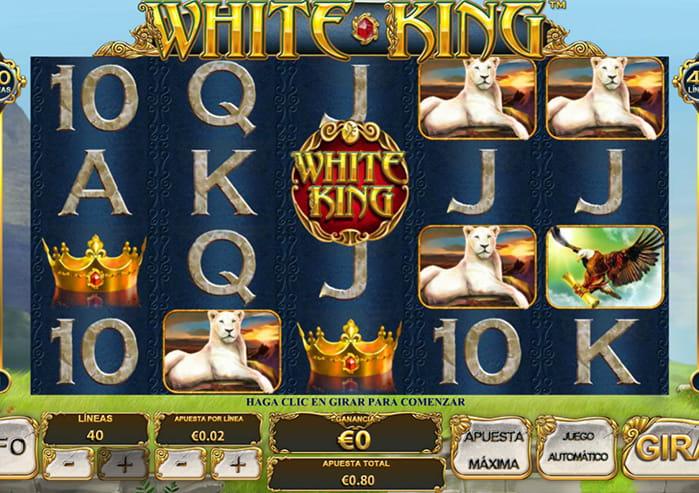 Jugar Gratis White King Tragamonedas en Linea-666