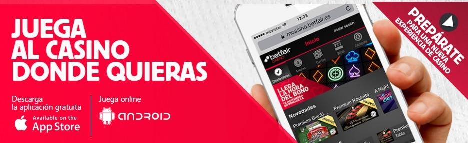 Conoce la versión móvil y la app de Betfair Casino-622
