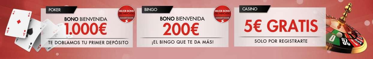 Torneo de Año Nuevo 1500€ en premios y 10€ gratis si te registras-975