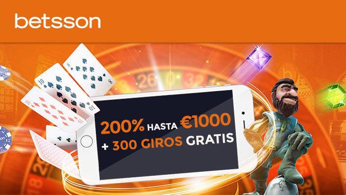 Bono del 50% en Betsson Casino en Portugal-909