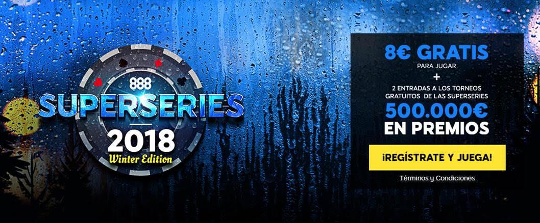 888poker: 600000€ en juego en las SuperSeries 2018-962