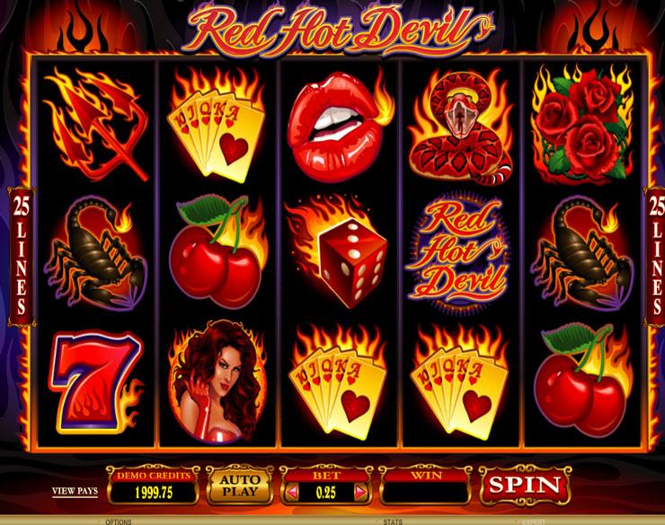 Jugar Gratis Red Hot Devil Tragamonedas en Linea-242