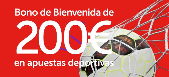 Apuesta con supercuotas 200€ de bono y 10€ de cashback-821