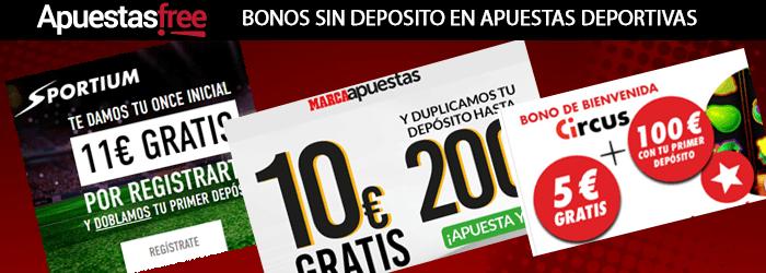 Bonos de Apuestas Sin Deposito y Gratis 280 € en 2018-364