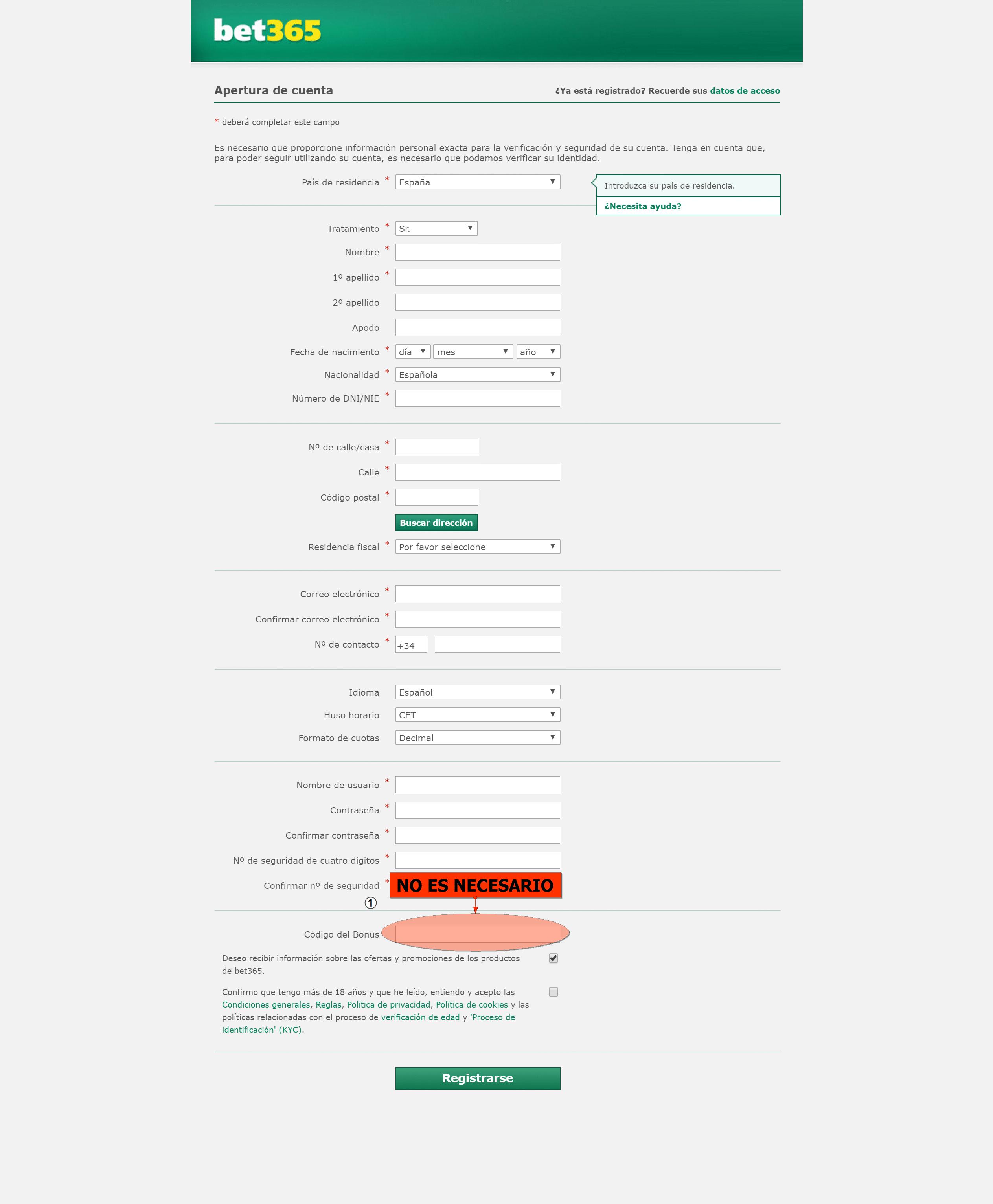 Bet365 ofrece un bono de 100 € gratis-585