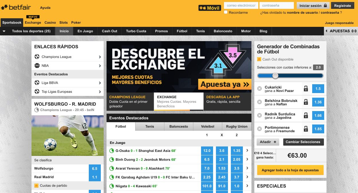 Betfair 5 euros sin riesgo en juegos de intercambio-646