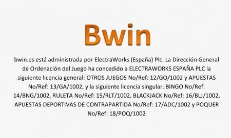El casino Bwin tiene licencia de España-370