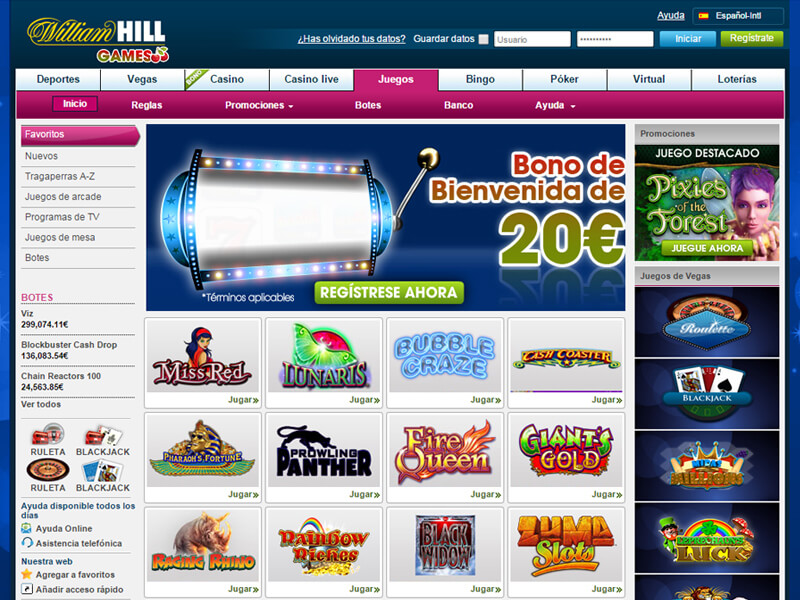 Casino William Hill en Colombia sobre la licencia de William Hill-573