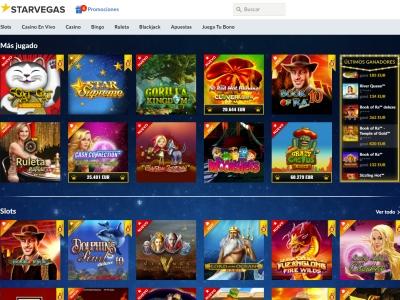 Descripción del casino en línea legal en españa starvegas-667