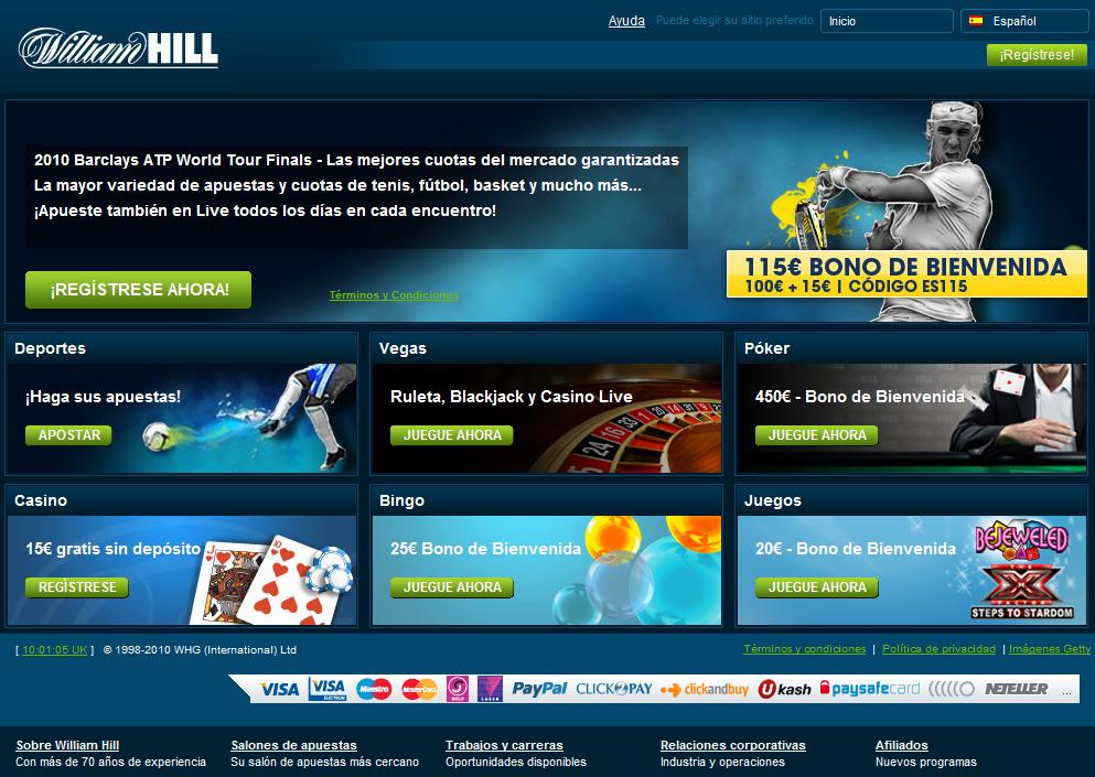 Descubre los métodos de pago de William Hill es-413