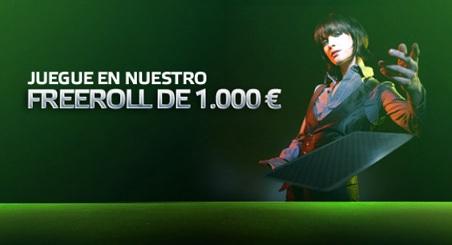 Más torneos Freeroll de Poker en Iberobet-55
