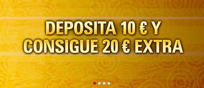 Recibe 10€ sin depósito 1000€ en bonos-805