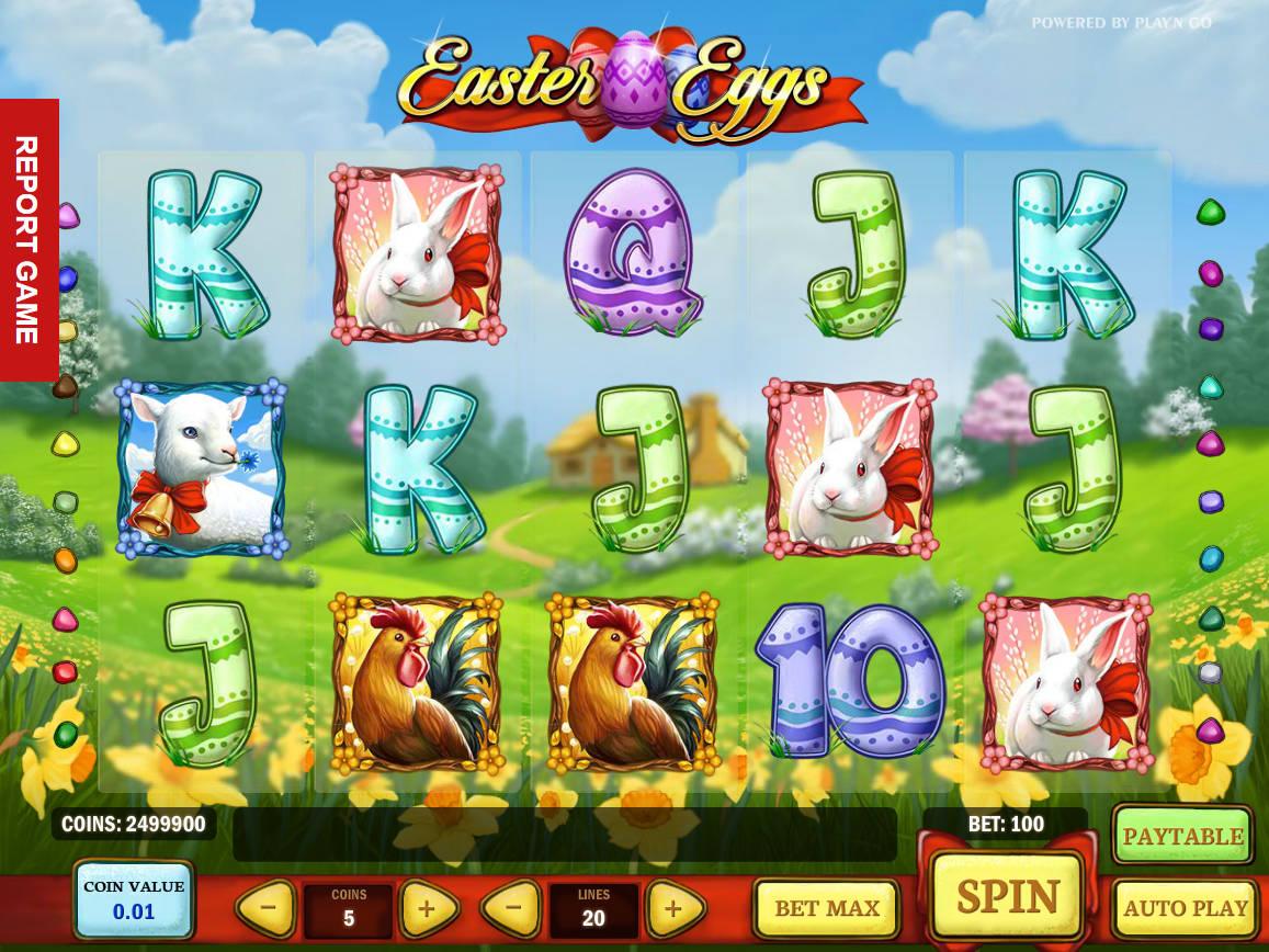 Juega a Easter Eggs gratis Bonos de Play n Go-798