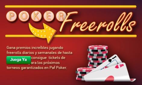 Más torneos Freeroll de Poker en Iberobet-859