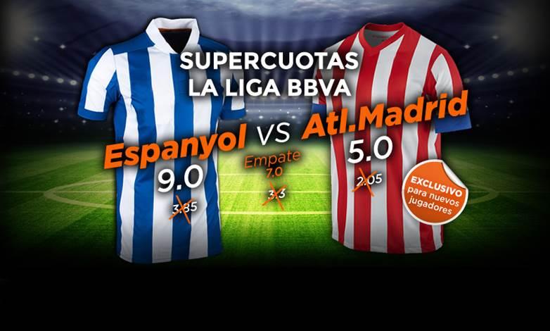 Supercuotas para el Espanyol y 200€ en apuestas y 10€ de cashback-687