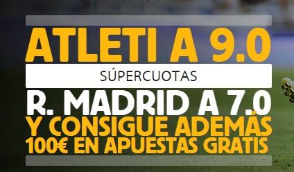 Supercuotas para el Real Madrid y Barça y 100€ en apuestas y 25€ extra-697